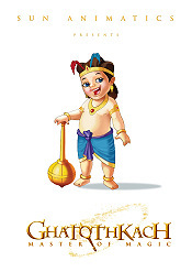 Ghatothakach: Master Of Magic Pictures To Cartoon