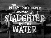 Slaughter In The Water Cartoon Funny Pictures