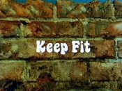 Keep Fit Cartoon Character Picture
