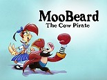 MooBeard The Cow Pirate Cartoon Funny Pictures