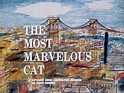 The Most Marvelous Cat Cartoon Picture