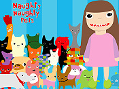 Cat Town Cartoon Picture