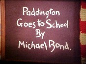 Paddington Goes To School Cartoon Picture