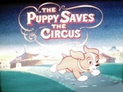 The Puppy Saves The Circus Cartoon Picture