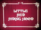 Rotk�ppchen (Little Red Riding Hood) Picture Of Cartoon