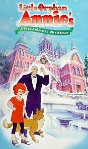 Little Orphan Annie's A Very Animated Christmas Picture Of The Cartoon