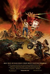 Aqua Teen Hunger Force Colon Movie Film For Theaters Picture Into Cartoon