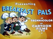 Breakfast Pals Cartoon Funny Pictures