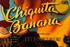Chiquita Banana Theatrical Cartoon Series Logo
