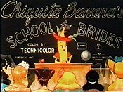 Chiquita Banana's School For Brides Picture Of Cartoon