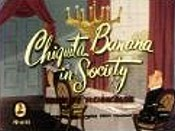 Chiquita Banana In Society Cartoon Picture