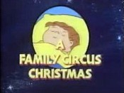A Family Circus Christmas Picture Of The Cartoon