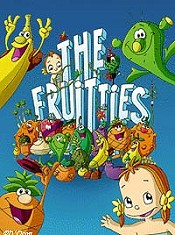 El Volc�n De Los Fruittis Cartoon Picture