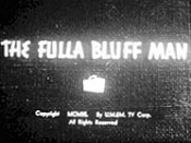 The Fulla Bluff Man Free Cartoon Picture