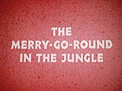 The Merry-Go-Round In The Jungle Cartoon Character Picture