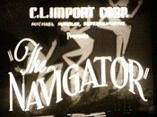 F�tiche En Voyage De Noces (The Navigator) Picture Into Cartoon