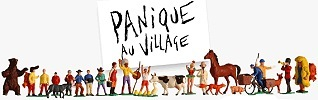 Panique au Village  Logo