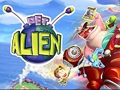 The Alien Who Invaded The Taffy Shoppe Picture Into Cartoon