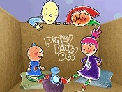Pinky Dinky Doo And The Cloud People Free Cartoon Picture