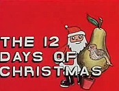 The Twelve Days Of Christmas Free Cartoon Picture