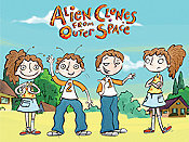 Alien Clones From Outer Space (Series) Cartoon Picture