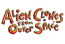 Alien Clones From Outer Space  Logo