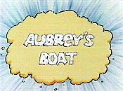 Aubrey's Boat Free Cartoon Picture