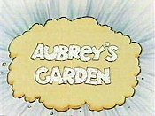 Aubrey's Garden Free Cartoon Picture