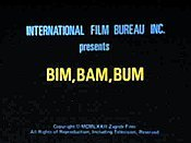 Bim Bam Bum (Bim-Bum) Free Cartoon Pictures