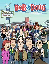 Bob and Doug Go on Strike Cartoon Character Picture