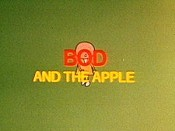 Bod And The Apple Picture Into Cartoon