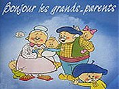 Les Grands-Parents Amoureux Cartoon Picture