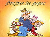 Les Papas Et La T�l�vision The Cartoon Pictures