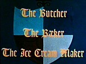 The Butcher The Baker The Ice Cream Maker Picture Of Cartoon