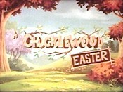 A Chucklewood Easter Cartoon Character Picture