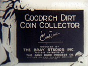 Goodrich Dirt Coin Collector Picture Into Cartoon