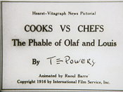 Cooks vs. Chefs: The Phable Of Olaf And Louis Picture Of Cartoon