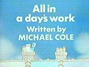 All In A Day's Work Cartoons Picture