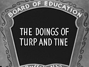 The Doings Of Turp And Tine Cartoon Picture