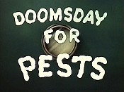 Doomsday For Pests Free Cartoon Picture