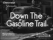 Down the Gasoline Trail Picture Of The Cartoon