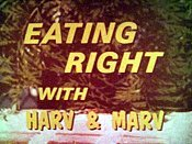 Eating Right With Harv & Marv Pictures Cartoons