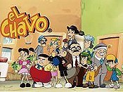 El Chavo Lavacoches Cartoon Picture