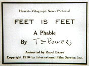 Feet Is Feet: A Phable Cartoon Pictures
