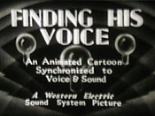 Finding His Voice Cartoons Picture