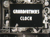 Grandfather's Clock Cartoon Picture