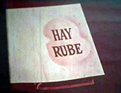 Hay Rube Cartoon Picture