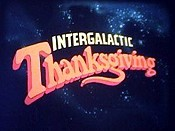 Intergalactic Thanksgiving Cartoon Picture