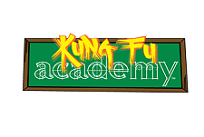 Kung Fu Academy Web Cartoon Series Logo