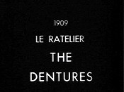 Le Ratelier de la Belle-M�re (The Dentures) Cartoon Picture